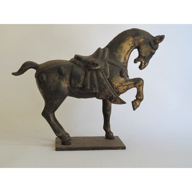 Chinese Ceremonial Metal Horse - Image 2 of 6