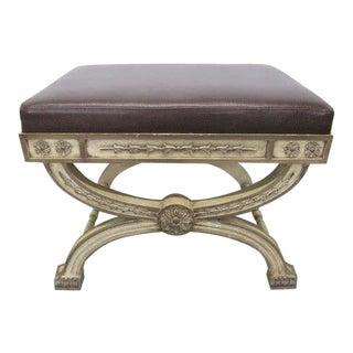 Italian Rococo Painted Bench