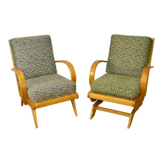 Russel Wright Mid-Century Modern Lounge Chairs - A Pair