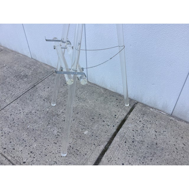 Image of 1970's Modern Lucite Easel
