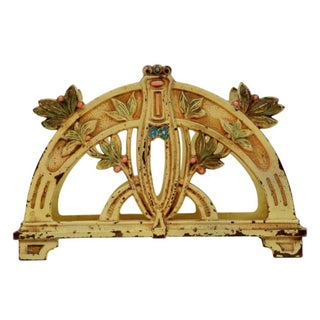 Art Nouveau Letter Holder