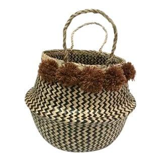 Sea Grass Belly Basket