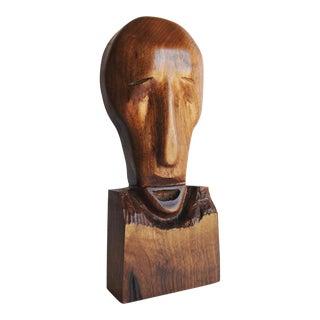 Mid-Century Wood Sculpture