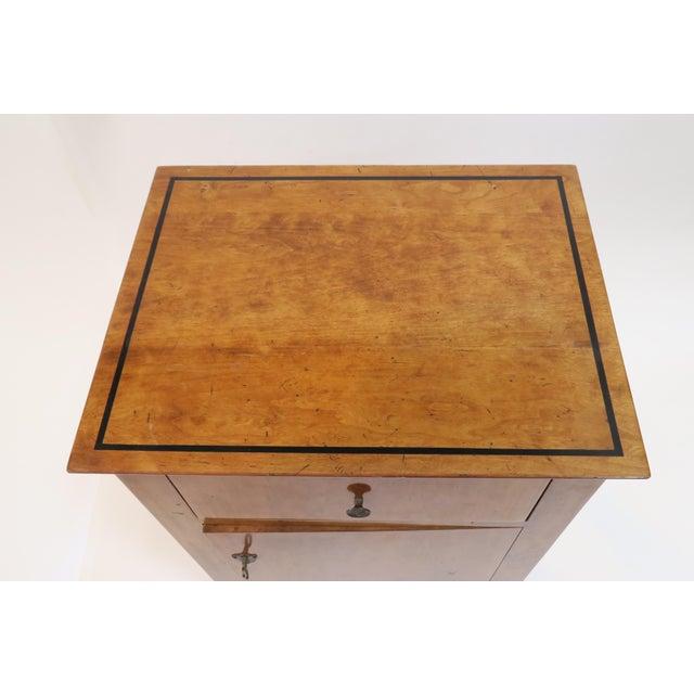 Beidermeier Style Small Cabinet - Image 6 of 8