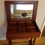 Image of Vintage Jewelry or Makeup Table