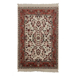 Hand Knotted Wool Persian Style Rug