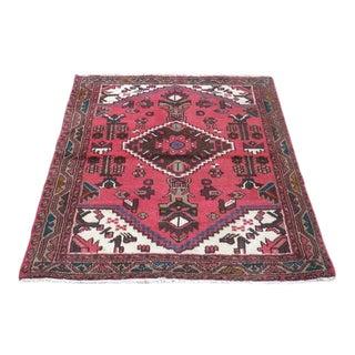 Hand Woven Persian Hamadan - 4″ × 5″