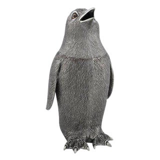 Pewter Penguin Cocktail Shaker