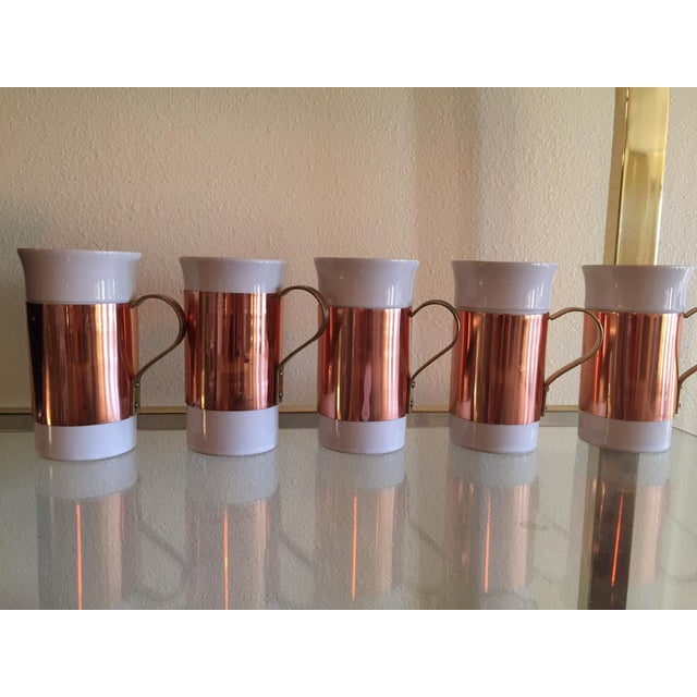 Copper Mugs - Set of 5 - Image 3 of 4