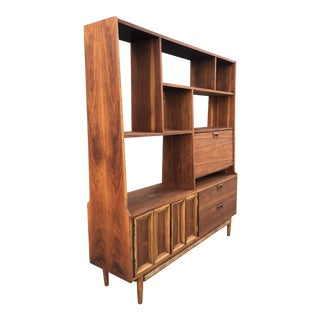 Mid-Century Wood Bookshelf