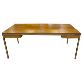 Custom Inland Steel Co. Wood & Steel Desk