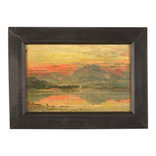 Oil on Board Painting of Broadstairs, England c.1890, Original Frame