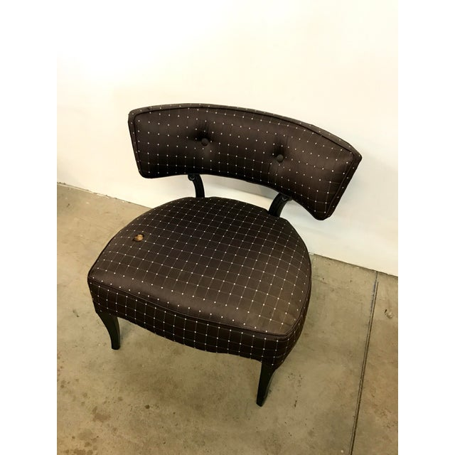 Billy Haines Style Slipper Chair - Image 4 of 10