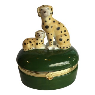 Staffordshire-Style Spotted Dog Box