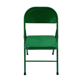 Mid-Century Kelly Green Chair