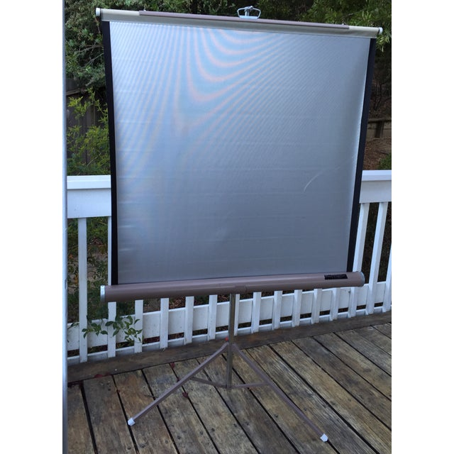 Image of Mid Century Wards Portable Projection Screen