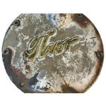 Image of Cast Iron Thor Industrial Salvage Name Plate