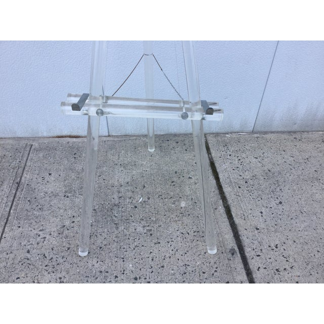 1970's Modern Lucite Easel - Image 9 of 10
