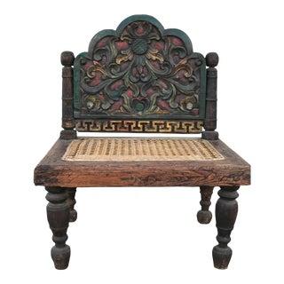 Wooden Indonesian Prayer Chair