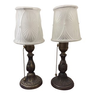 Restored Antique Table Lamps - A Pair