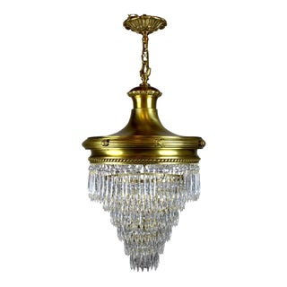 'Wedding Cake' Chandelier by R. Williamson.