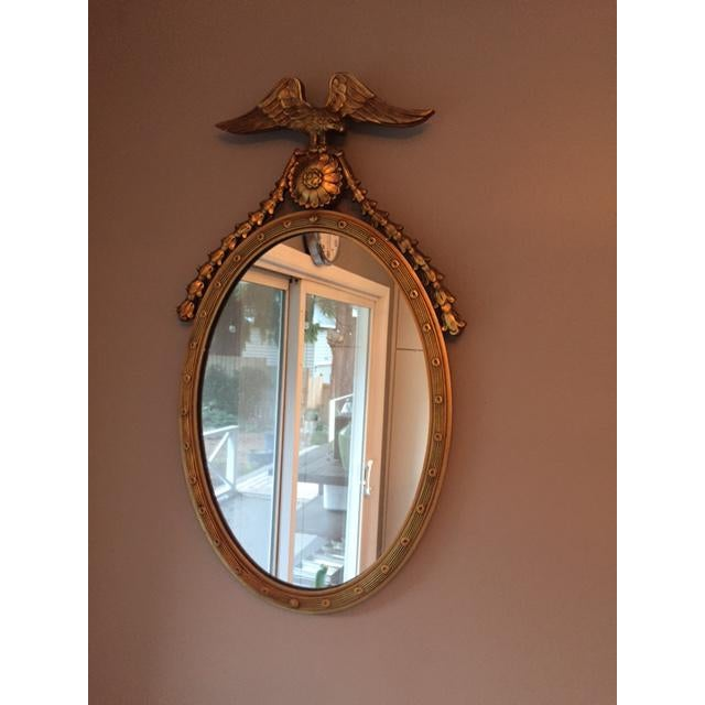 Federal Style Oval Mirror - Image 2 of 7