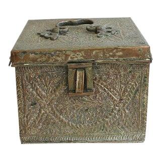 Antique Persian Copper Box