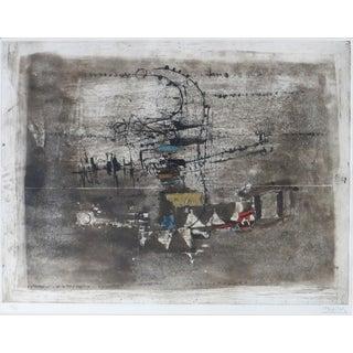 Johnny Friedlaender Modernist Etching and Aquatint