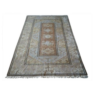 "Vintage Turkish Area Rug - 8'8"" X 12'9"""