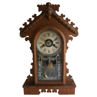 Jacot's Regulator Mantel Clock