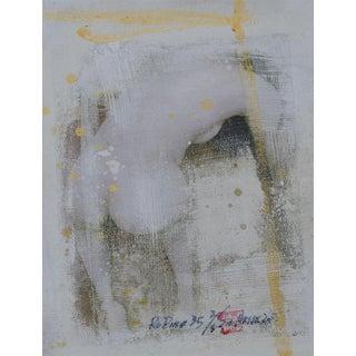 'Rodin #35' Mixed Media Art