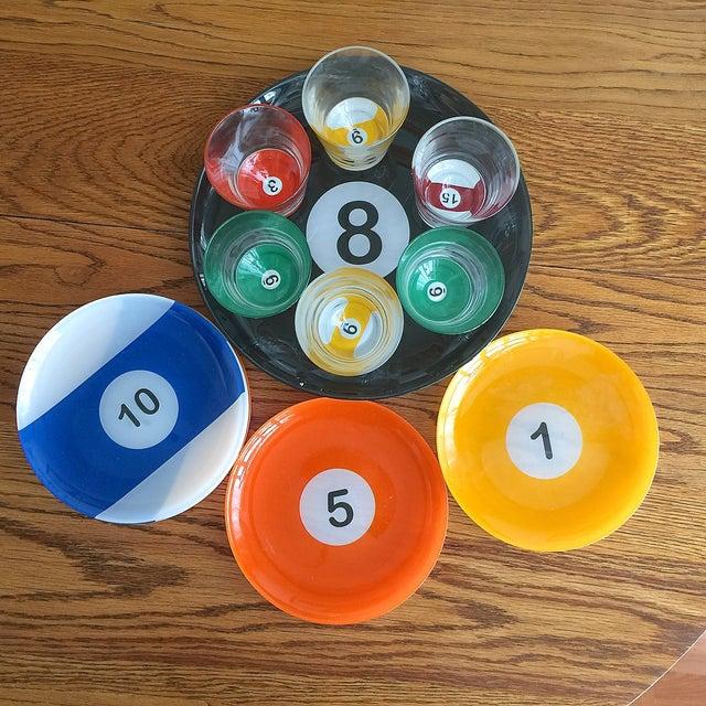 Image of Billiard Ball Snack Set - 15 Piece Set