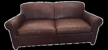 Crate U0026 Barrel Leather Club Sleeper Sofa