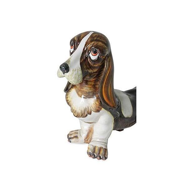 Porcelain Bassett Hound - Image 2 of 2