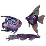 Image of Ceramic Fish Wall Art - Set of 3