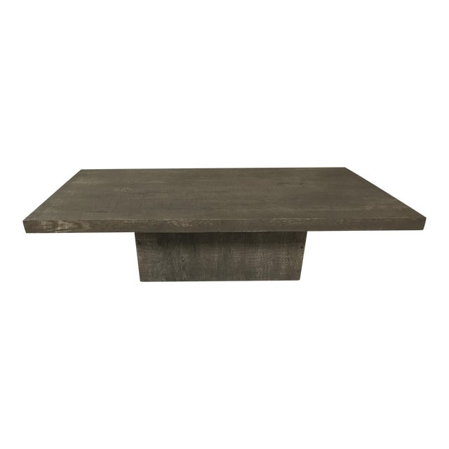 Restoration Hardware Reclaimed Russian Oak Coffee Table Chairish