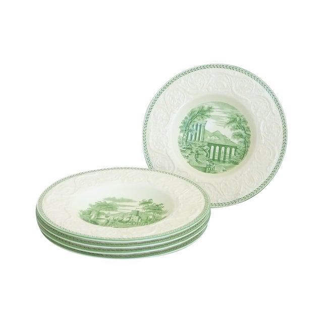 Wedgwood Creamware Rim Soup Bowls - Set of 5 - Image 1 of 7