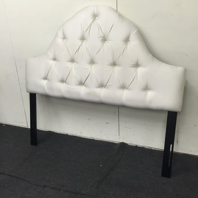 Image of Skyline Furniture Arch Tufted Queen Headboard