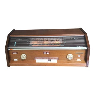 1960s Phillips Mid-Century Radio