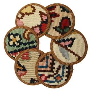 Kilim Coasters Set of 6 - Silvan