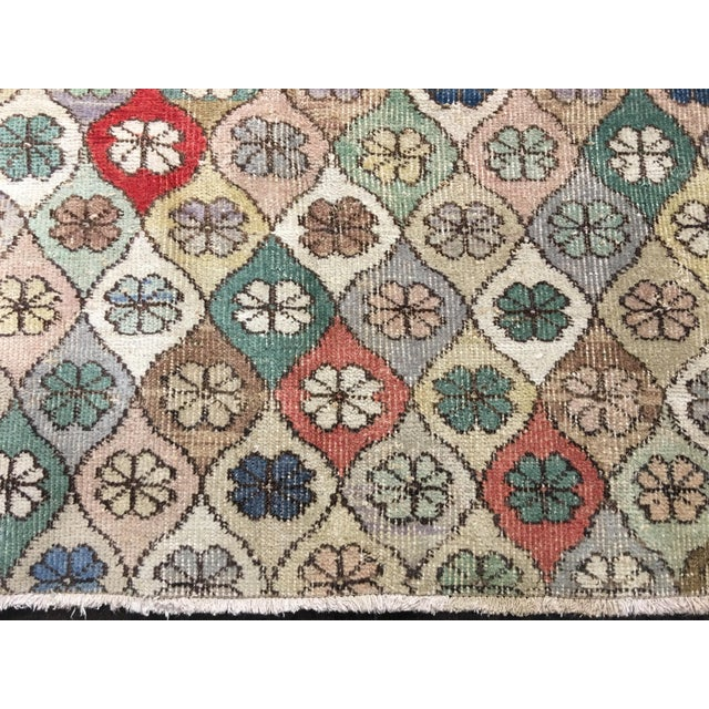 "Bellwether Rugs Vintage Turkish Zeki Muren Rug - 5'9""x7'5"" - Image 4 of 8"