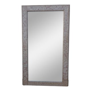 Monumental Faux Marble Painted Mirror