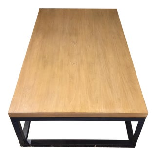 Lexington Monterey Grey Elm Veneer Bronze Sands Coffee Table