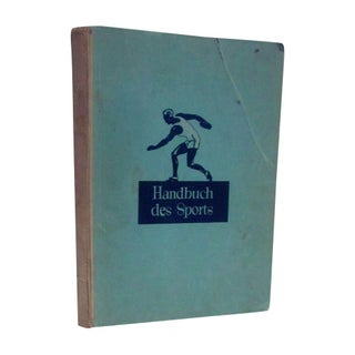 1932 Book Handbuch des Sports German