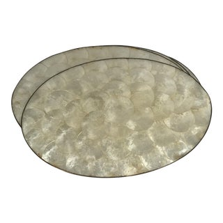 Capiz Shell Placemats - Set of 5