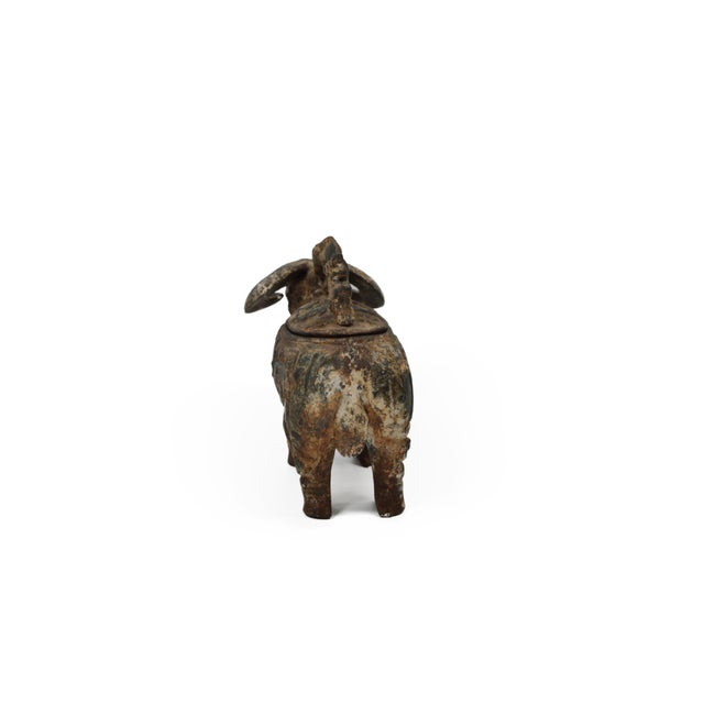 Chinese Ram Vessel Archaistic Bronze - Image 5 of 6