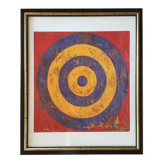 Pop Art Style Bullseye Print