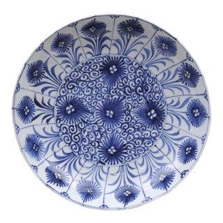Chinese Kang Xsi Blue & White Plate, Circa 1662-1722