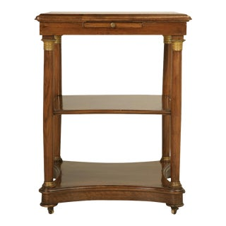 Antique French Empire Style End Table