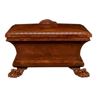 William IV Mahogany Cellarette